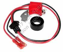 Hot-Spark 3BOS4U1 electronic ignition conversion kit replaces points in 4-cylinder Bosch/Ford distributors