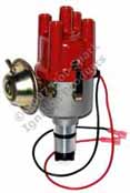 Hot-Spark SVDA 034 Vacuum-advance 4-cylinder Distributor with 3BOS4U1 electronic ignition for Air-cooled VW and Porsche 0 231 170 034