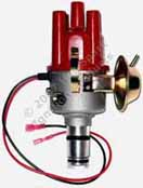 Hot-Spark SVDA 034 Single Vacuum Dual Advance Distributor for Air-cooled Volkswagen VW and Porsche 0 231 170 034, VW 043-905-205