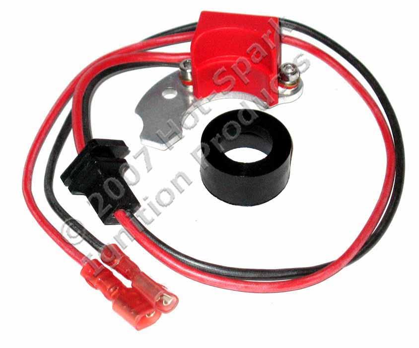 Hot-Spark 3BOS4U1 universal electronic ignition conversion kit for 4-cylinder Bosch distributors