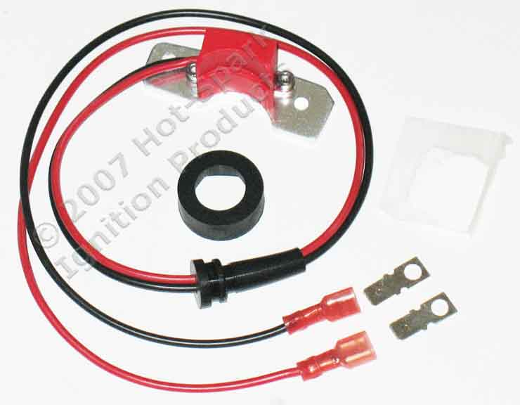 Hot-Spark electronic ignition conversion kit for 6-cylinder Ford, Fomoco, Autolite, Motorcraft distributors