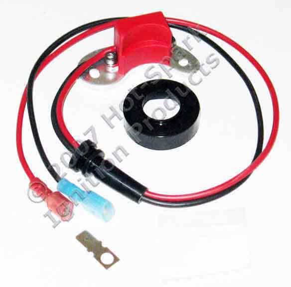 Hot-Spark electronic ignition conversion kit for 8-cylinder Ford, FoMoCo, Autolite, Motorcraft distributors