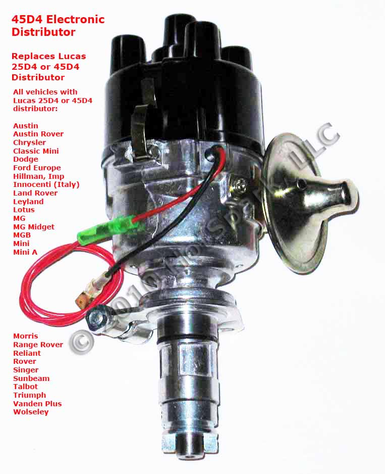 new 45d4 replacement electronic distributor for vehicles