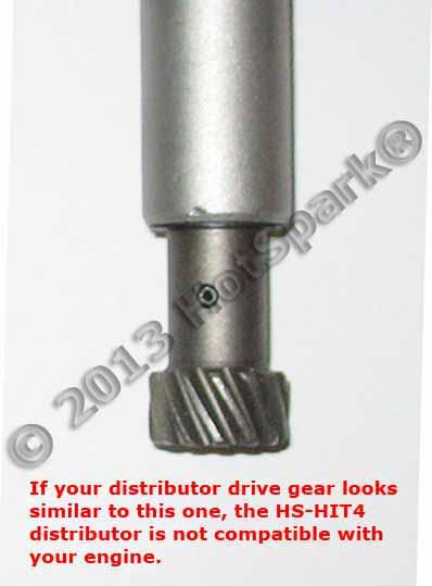 Hitachi Distributor Drive Gear Honda