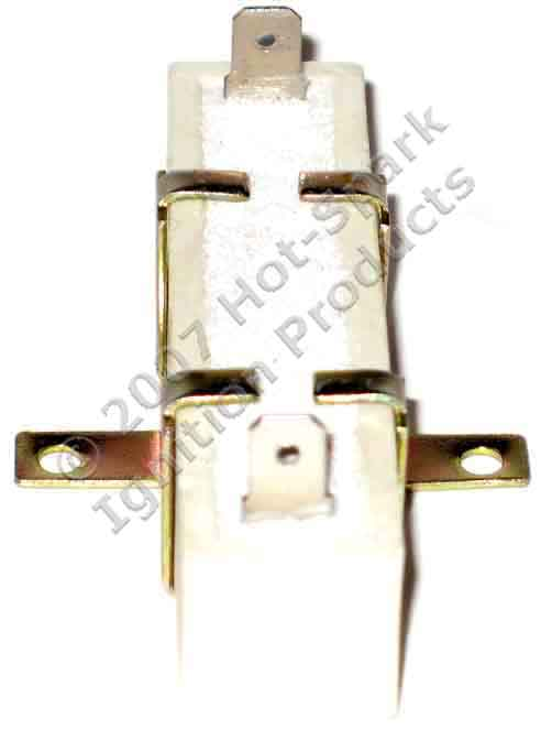 Hot-Spark General-Purpose 1.4 Ohm External Ballast Resistor For Use with Electronic Ignition or Points