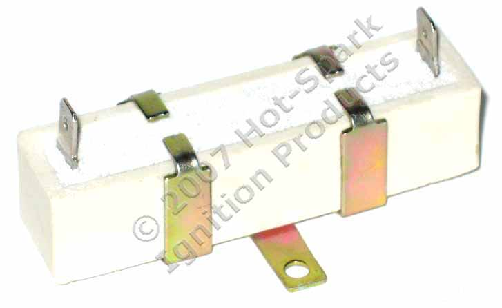 Hot-Spark 1.4 Ohm External Ballast Resistor for Ignition Coils