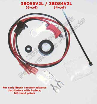 Electronic Ignition Conversion Kits for Mercedes-Benz 200, 220, 280