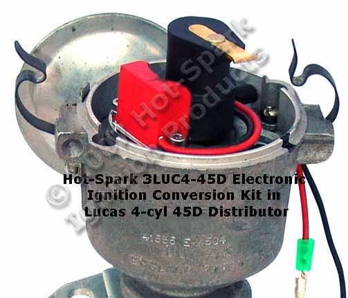 Electronic Ignition Conversion Kits For Lucas 4cylinder 6cylinder