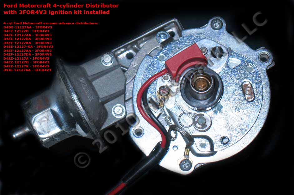 Electronic Ignition Conversion Kits for 4 Cylinder Ford
